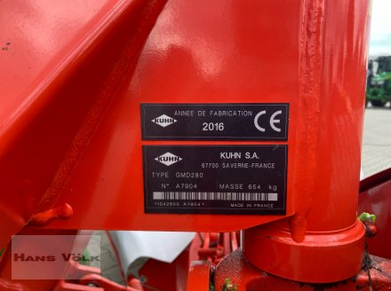 Mähwerk des Typs Kuhn GMD 280, Gebrauchtmaschine in Eching (Bild 10)