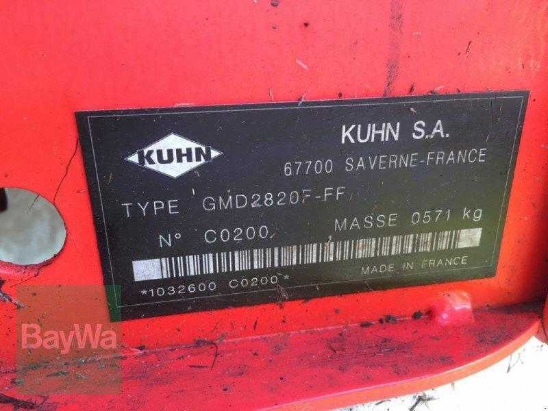 Mähwerk des Typs Kuhn GMD 2820 F-FF, Gebrauchtmaschine in Untergriesbach (Bild 5)
