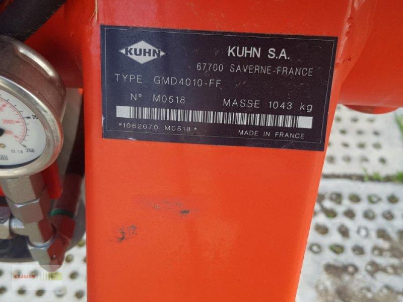 Mähwerk типа Kuhn GMD 4010 FF, Gebrauchtmaschine в Erkheim (Фотография 4)