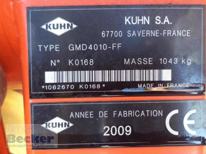 Mähwerk типа Kuhn GMD 4010 Lift-Control, Gebrauchtmaschine в Weimar-Niederwalgern (Фотография 8)