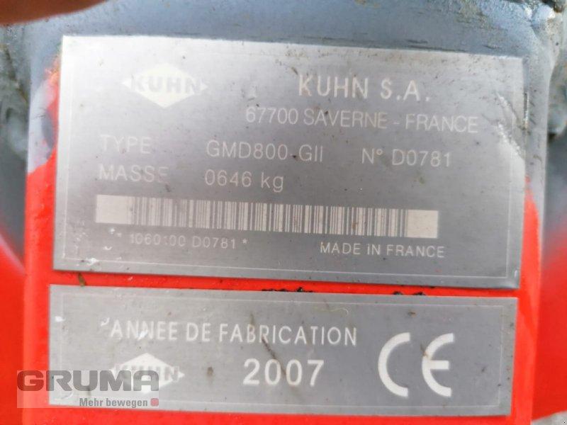 Mähwerk typu Kuhn GMD 800 G II, Gebrauchtmaschine v Germaringen (Obrázok 9)