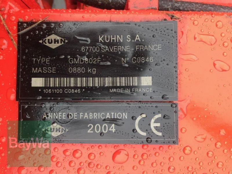 Mähwerk des Typs Kuhn GMD 802 F, Gebrauchtmaschine in Weissenhorn (Bild 4)