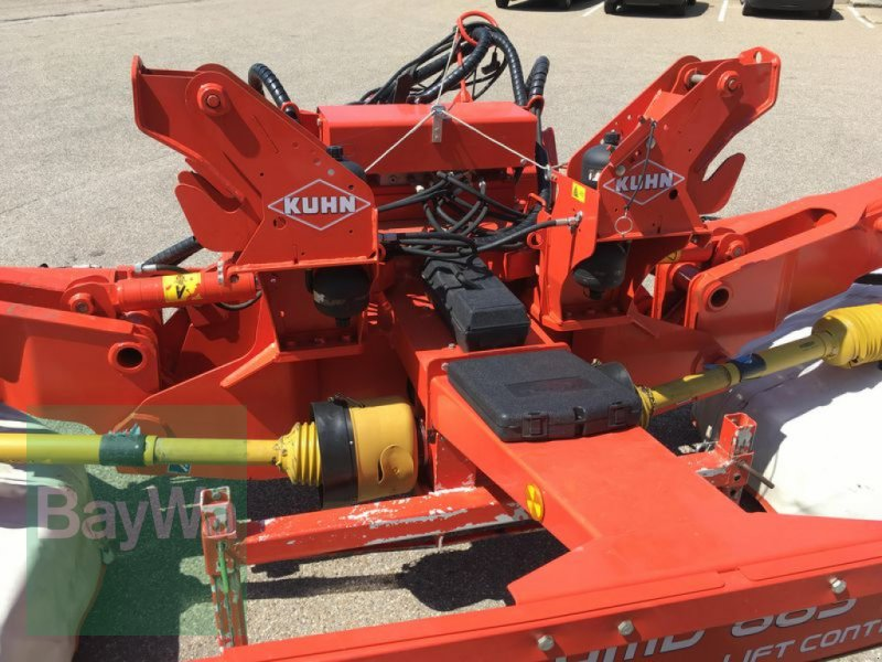 Mähwerk des Typs Kuhn GMD 833 FF, Gebrauchtmaschine in Obertraubling (Bild 16)