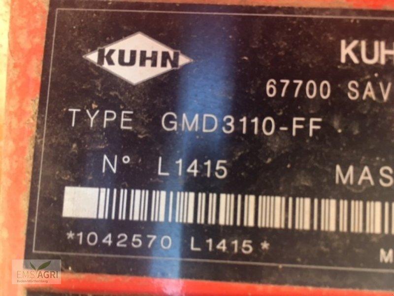 Mähwerk типа Kuhn GMD3110FF, Gebrauchtmaschine в Vöhringen (Фотография 11)