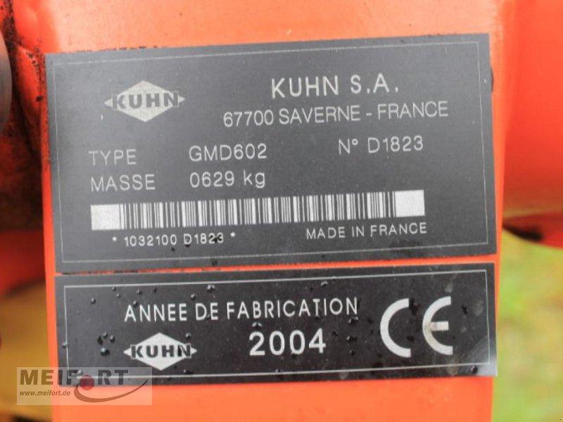 Mähwerk des Typs Kuhn GMD602, Gebrauchtmaschine in Daegeling (Bild 6)