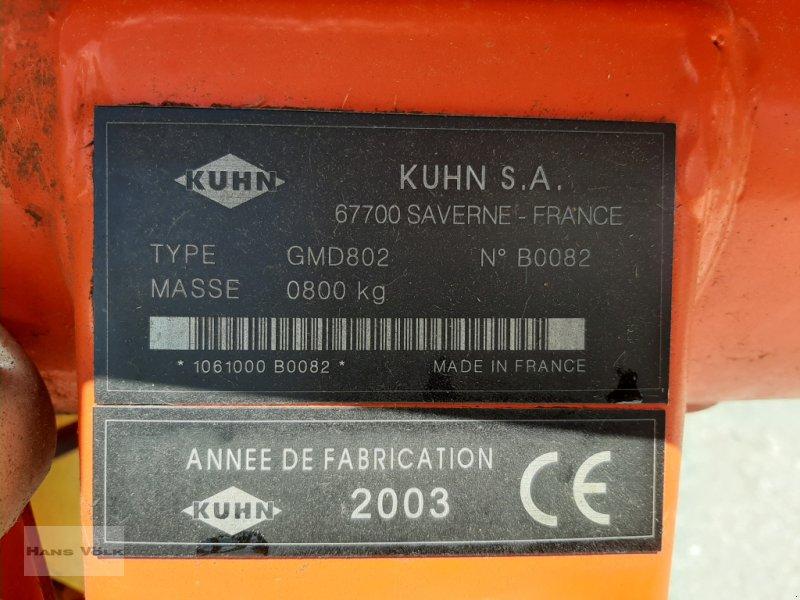 Mähwerk des Typs Kuhn GMD802, Gebrauchtmaschine in Antdorf (Bild 7)