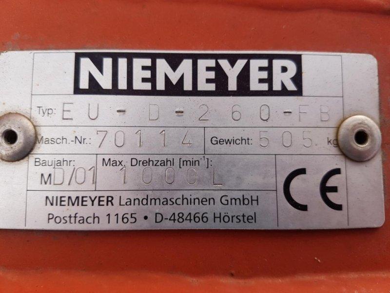 Mähwerk типа Niemeyer EU-D 260 Front, Gebrauchtmaschine в Emsbüren (Фотография 5)