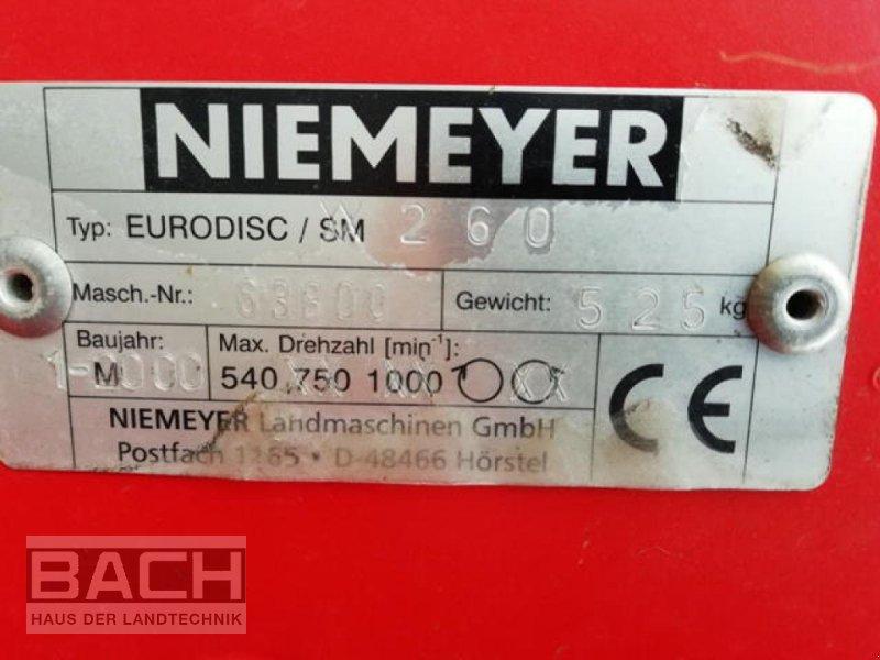 Mähwerk типа Niemeyer EURODISC 260, Gebrauchtmaschine в Boxberg-Seehof (Фотография 4)