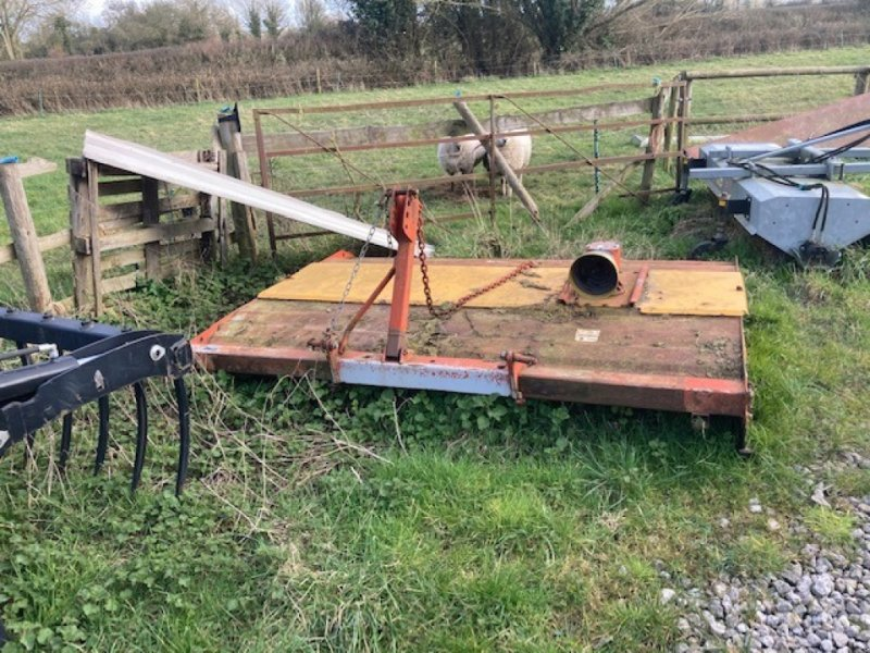 Mähwerk des Typs Teagle Topper 8, Gebrauchtmaschine in Thornbury (Bild 1)