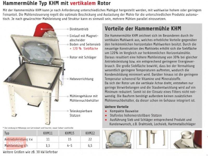 Mahlanlage & Mischanlage des Typs Kessens Hammermühle KHM, Neumaschine in Lastrup (Bild 1)