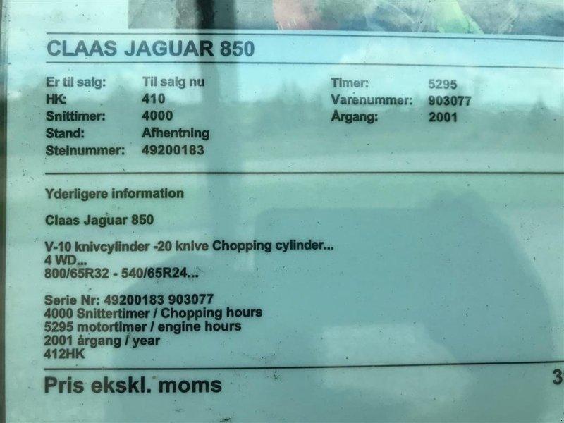 Maisgebiß typu CLAAS JAGUAR 850, Gebrauchtmaschine v Ribe (Obrázok 4)
