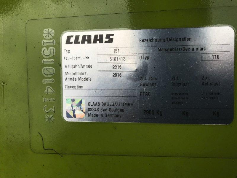 Maisgebiß a típus CLAAS Orbis 600 SD, Gebrauchtmaschine ekkor: Rötz (Kép 2)