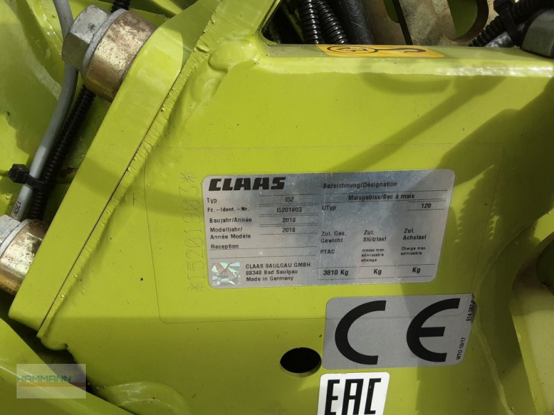 Maisgebiß des Typs CLAAS Orbis 750, Gebrauchtmaschine in Calw  (Bild 5)
