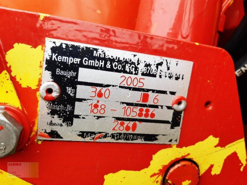 Maisgebiß des Typs Kemper 360 Mähvorsatz, Gebrauchtmaschine in Vohburg (Bild 8)