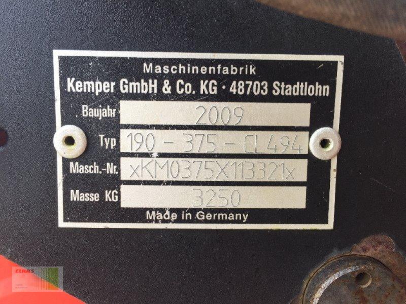 Maisgebiß typu Kemper Champion 375, Gebrauchtmaschine v Schenefeld (Obrázok 3)