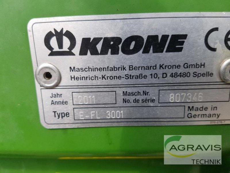 Maisgebiß tip Krone EASY FLOW 3001, Gebrauchtmaschine in Bardowick (Poză 7)