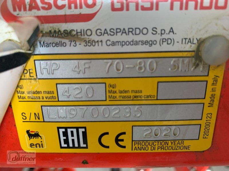 Maishackgerät типа Maschio HP 4 F 70-80, Gebrauchtmaschine в Hohentengen (Фотография 6)