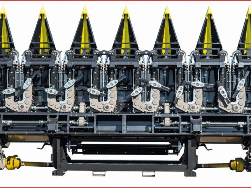 Maispflückvorsatz des Typs Olimac Drago GT 10 reihig starr 75 cm 50 cm möglich, Vorführmaschine in Schutterzell (Bild 1)