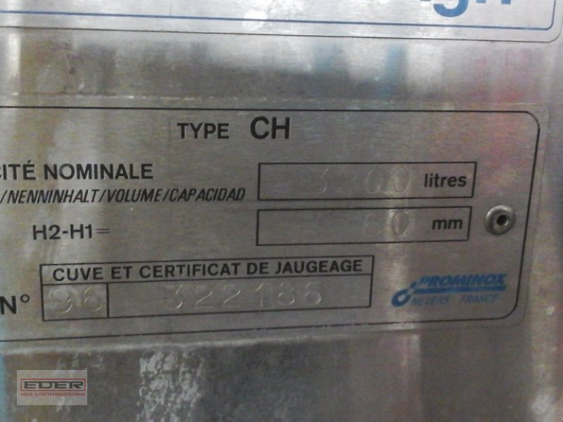 Melkroboter a típus DeLaval 3200 Liter Milchkühltank, Gebrauchtmaschine ekkor: Tuntenhausen (Kép 3)