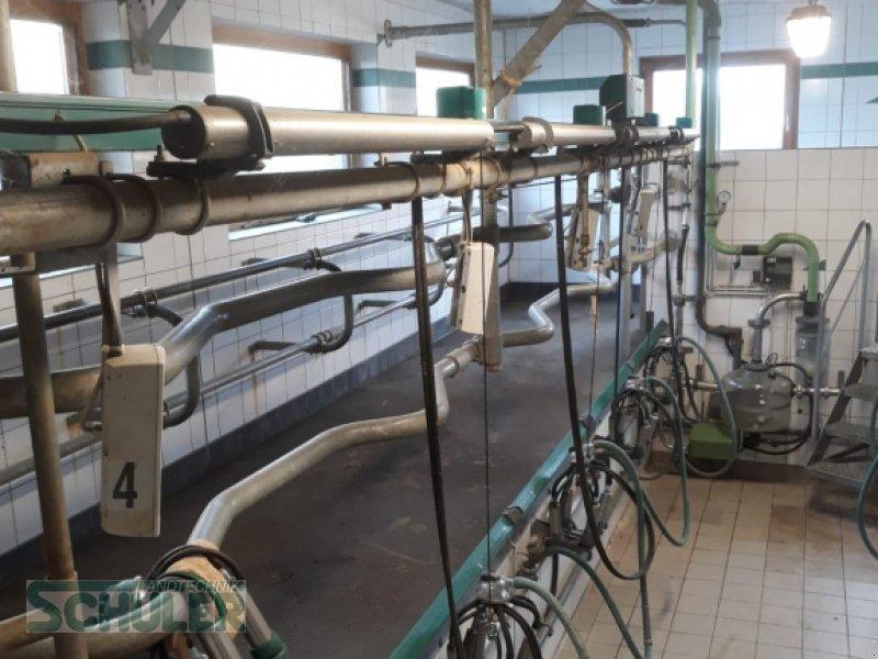 Melkstand типа GEA Euroclass 1200, 2x4, freitragend, Gebrauchtmaschine в St. Märgen (Фотография 1)