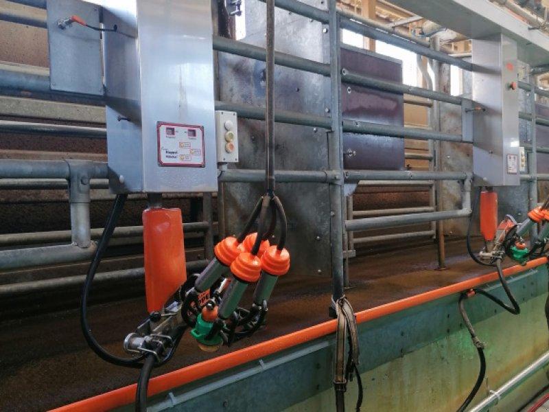 Melkstand des Typs Happel Robotex, Gebrauchtmaschine in Ohrenbach (Bild 1)