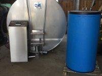 Lister Einen für Lely A3 Next Melkroboter passender 4000 L. Milchkühltank