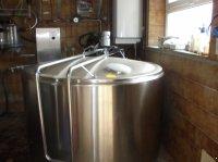 De Laval DX/CR 1400 tejhűtő kád