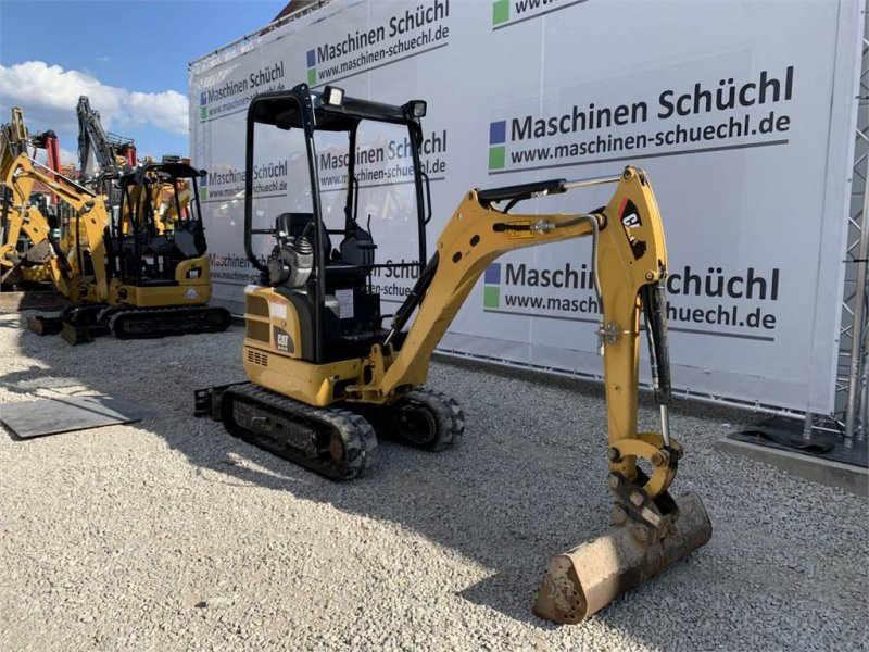 Minibagger des Typs Caterpillar 301.7 DCR Verstelllaufwerk Neuwertig, Gebrauchtmaschine in Schrobenhausen (Bild 7)