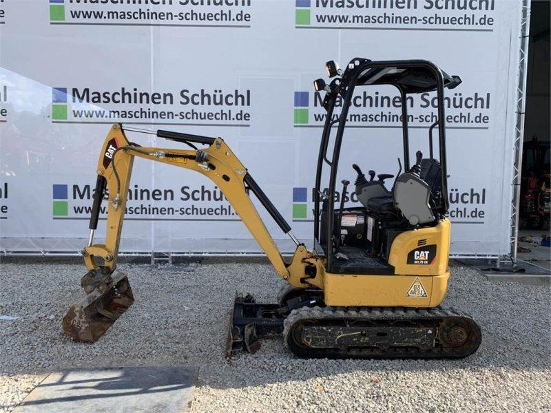 Minibagger des Typs Caterpillar 301.7 DCR Verstelllaufwerk Neuwertig, Gebrauchtmaschine in Schrobenhausen (Bild 2)