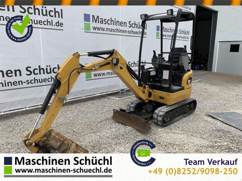Minibagger des Typs Caterpillar 301.7 DCR Verstelllaufwerk Neuwertig, Gebrauchtmaschine in Schrobenhausen (Bild 1)
