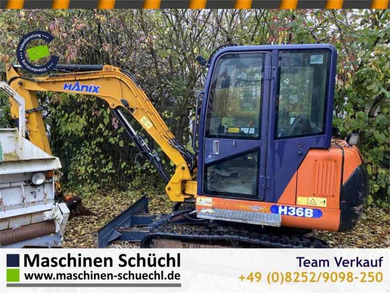 Minibagger типа Hanix H36B Minibagger 3,8to gt. Zustand Defektes Bastler, Gebrauchtmaschine в Schrobenhausen (Фотография 1)