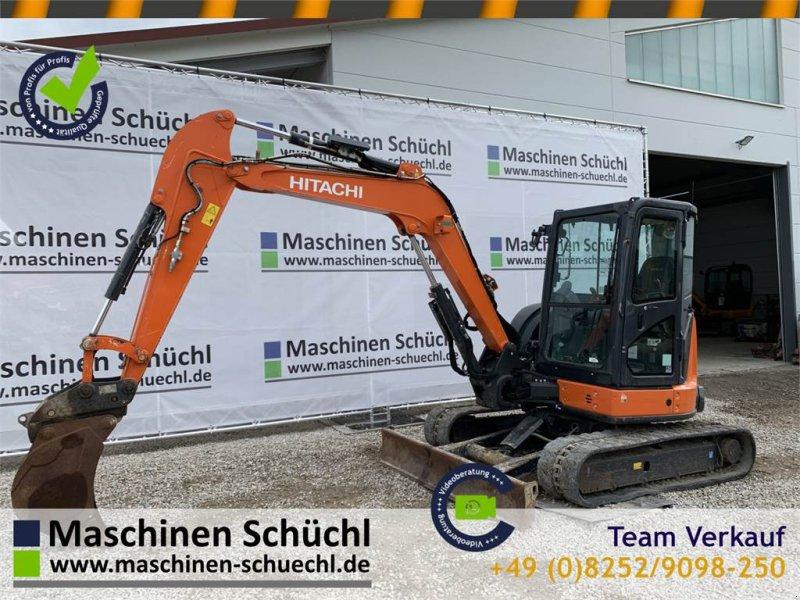 Minibagger типа Hitachi Midi Bagger ZX 55 U-5A CLR 5,5to TOP, Gebrauchtmaschine в Schrobenhausen (Фотография 1)