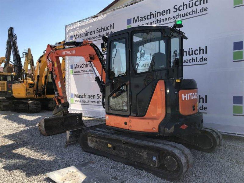 Minibagger типа Hitachi Midi Bagger ZX 55 U-5A CLR, Gebrauchtmaschine в Schrobenhausen (Фотография 3)