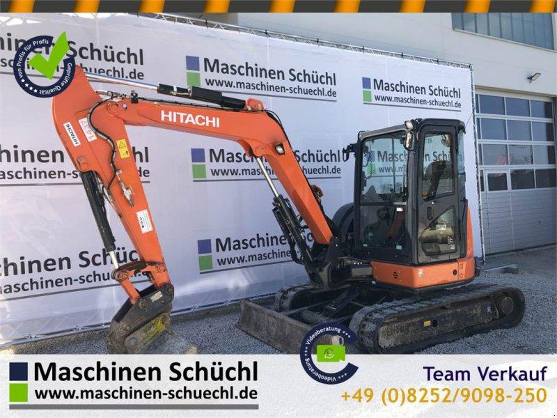 Minibagger типа Hitachi Midi Bagger ZX 55 U-5A CLR, Gebrauchtmaschine в Schrobenhausen (Фотография 1)