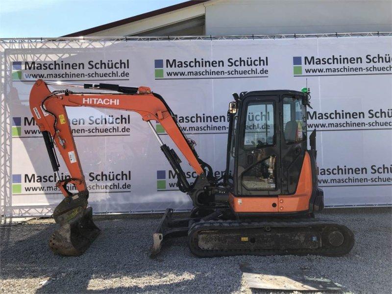 Minibagger типа Hitachi Midi Bagger ZX 55 U-5A CLR, Gebrauchtmaschine в Schrobenhausen (Фотография 2)
