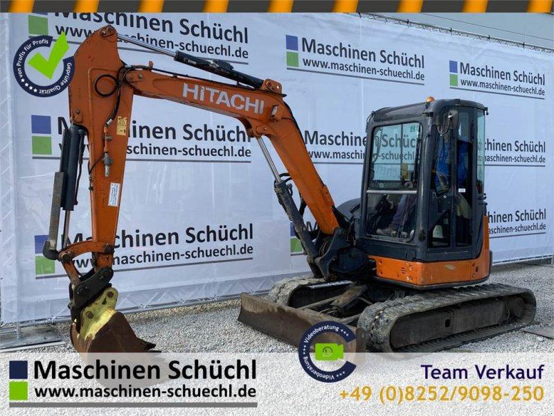Minibagger типа Hitachi Minibagger ZX 48 U-3 CLR, Gebrauchtmaschine в Schrobenhausen (Фотография 1)