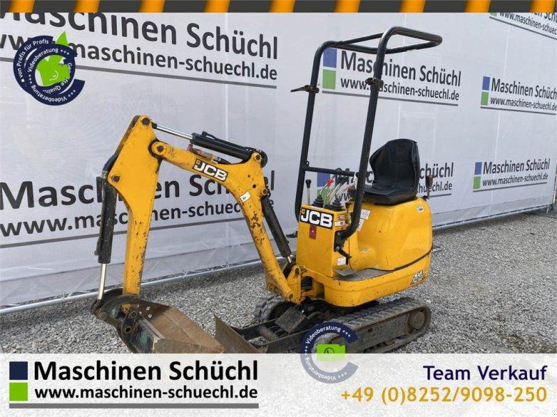 Minibagger des Typs JCB 8008 Microbagger 950kg, neuwertig, hydr. Fahrwerk, Gebrauchtmaschine in Schrobenhausen (Bild 1)
