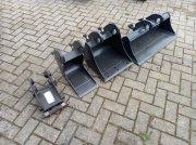 Minibagger des Typs Sonstige GP Equipment bakkenset, Gebrauchtmaschine in Fleringen