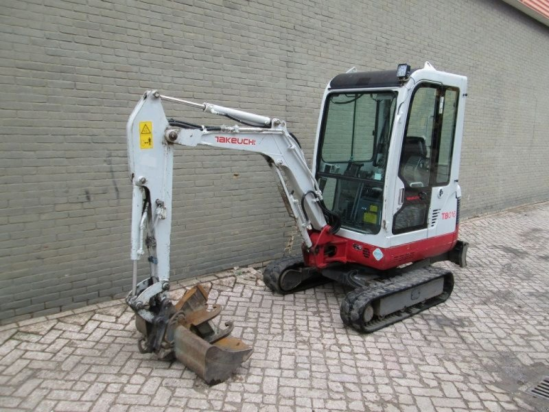 Minibagger типа Takeuchi TB016, Gebrauchtmaschine в Barneveld (Фотография 1)