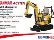 Minibagger a típus Yanmar ACTIE SV08 minigraver  12850,--, Gebrauchtmaschine ekkor: Losdorp