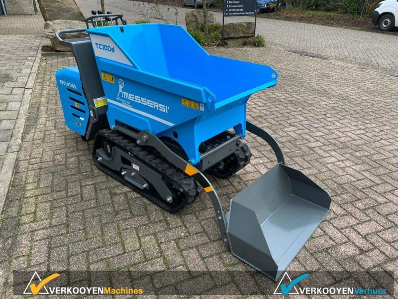 Minidumper типа Messersi TC100d Dumper, Gebrauchtmaschine в Vessem (Фотография 6)