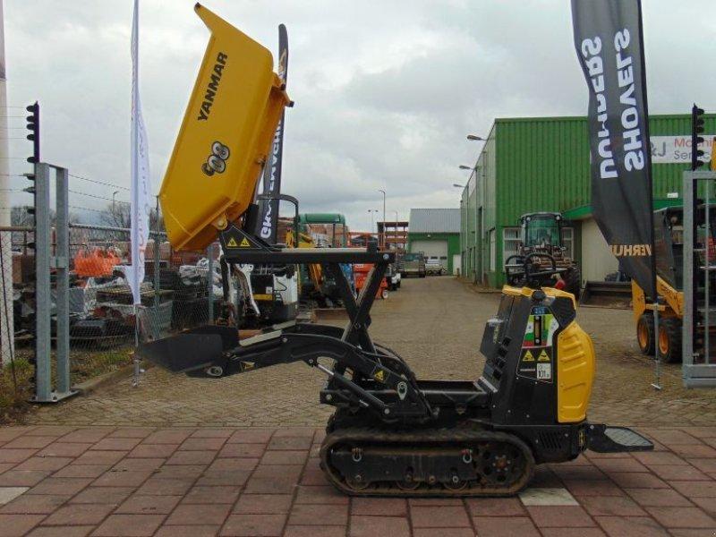 Minidumper типа Yanmar C08 - Huurkoop/lease  195,00 per maand, Gebrauchtmaschine в Sint Willebrord (Фотография 1)