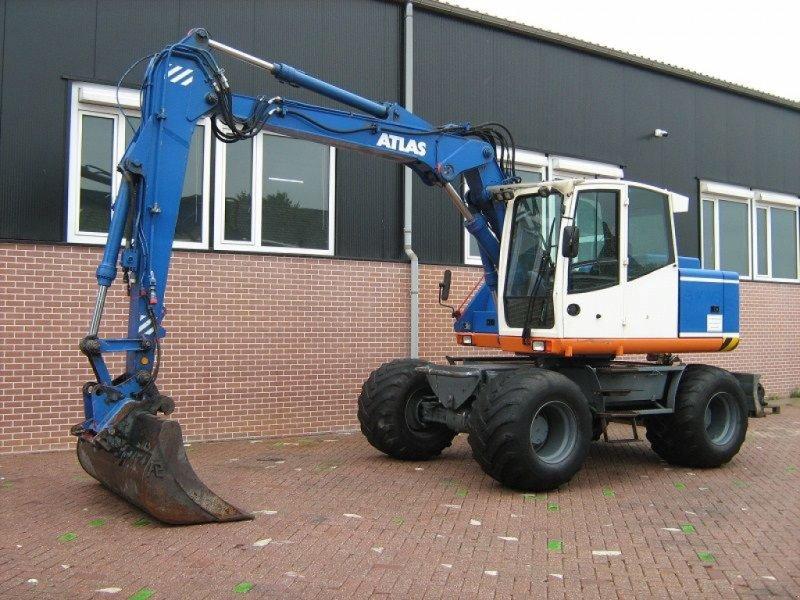 Mobilbagger типа Atlas 1304, Gebrauchtmaschine в Barneveld (Фотография 1)
