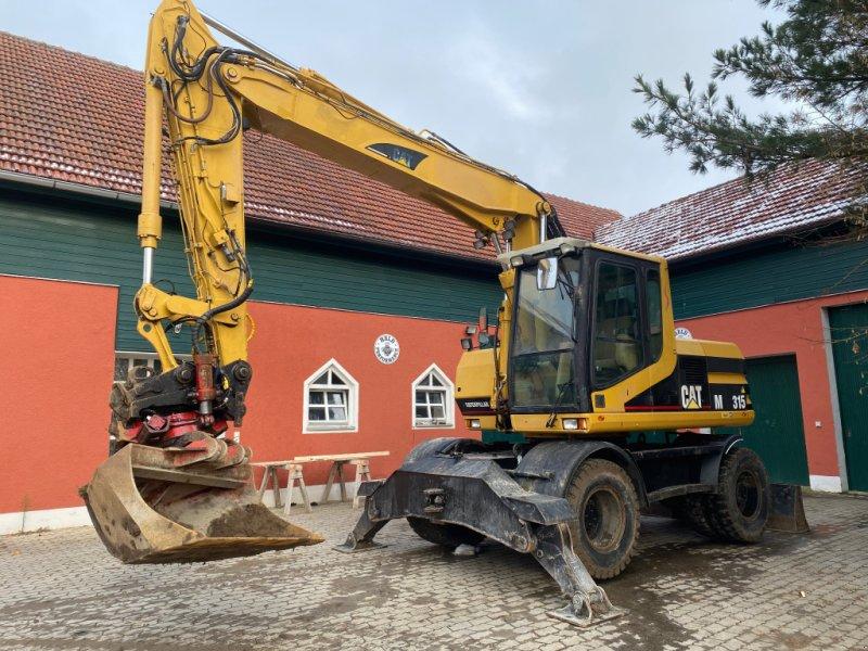 Mobilbagger des Typs Caterpillar M 315 C mit ROTOTILT Mobilbagger 313 316, Gebrauchtmaschine in Weilach (Bild 1)