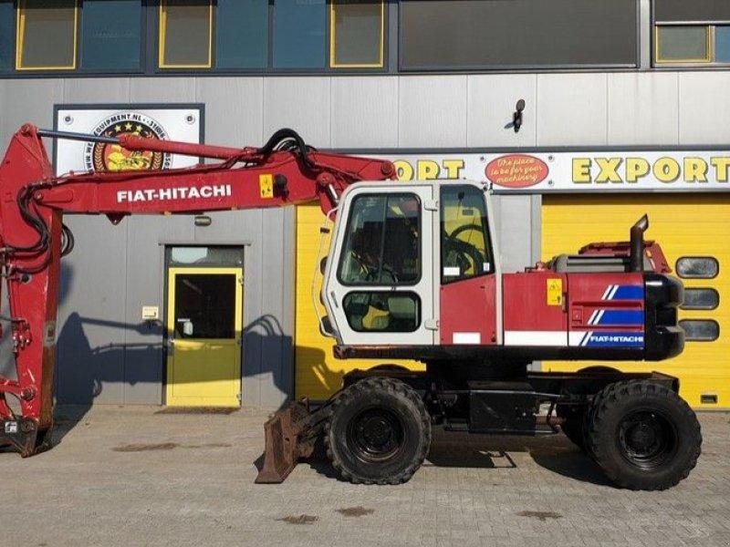 Mobilbagger типа Fiat Hitachi FH130W-3, Gebrauchtmaschine в Krabbendijke (Фотография 1)