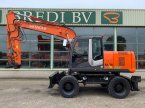 Mobilbagger des Typs Hitachi ZX 170 W-3 in Roosendaal