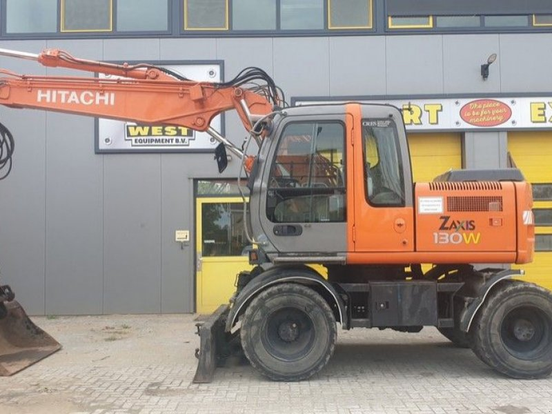Mobilbagger типа Hitachi ZX130W, Gebrauchtmaschine в Krabbendijke (Фотография 1)