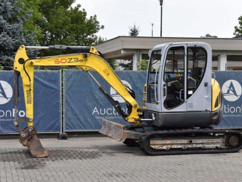 Mobilbagger типа Sonstige Wacker Neuson 50Z3, Gebrauchtmaschine в Antwerpen (Фотография 1)