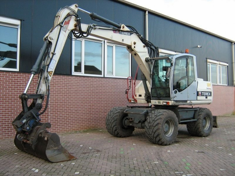 Mobilbagger des Typs Terex TW140, Gebrauchtmaschine in Barneveld (Bild 1)
