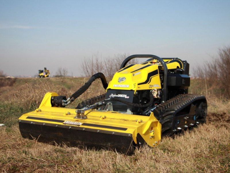 Motormäher типа Energreen RoboGREEN evo | Ferngesteuerter Geräteträger, Gebrauchtmaschine в Krustetten (Фотография 1)